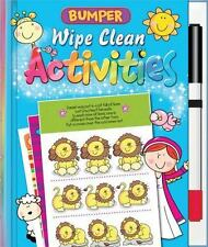 Bumper Wipe Clean Activities [With Marker] (Mixed Media Product)