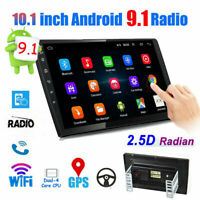 "10.1"" Car Radio 2 Din Android 9.1 GPS Stereo Navi MP5 Player WiFi Quad Core USA"