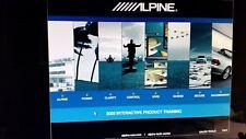 New listing /Alpine Car Audio💎2003 Dealer Interactive Product Training Cd-Rom💽🎥🎼👀📠£