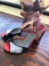 Fendi Size 35 Polka Dot Heels Sandals