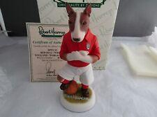 RED BULL TERRIER ENGLAND FOOTBALL WORLD CUP DPWC01 LIMITED EDITION ROBERT HARROP
