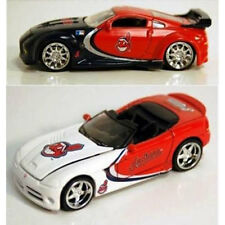 MLB Cleveland Indians Replica Die Cast Dodge Viper and Nissan 350Z
