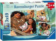 Ravensburger UK 9385 Disney Moana Jigsaw Puzzle - 3 X 49 Pieces