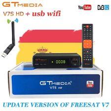 Receptor Satelite GTMEDIA DVB S2 V7S TV BOX+Wifi Satellite Receiver  HD 1080P