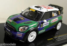 Ixo 1/43 Scale RAM469 Mini Countryman JCW #2 Monza Rally 2011 Diecast Car