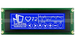 Blue 240x64 Graphic LCD Module Display LCM w/RA6963,T6963 Controller w/Tutorial