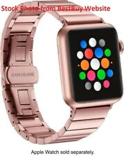 Genuine Platinum Apple Watch 38mm Link Band - Rose Gold - PT-AWB38RGLB - USED