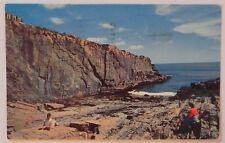 Bald Head Cliff, Oqunquit, Maine 1962 Postcard / stamp C58