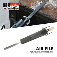 Brand New Air Pneumatic Air File Includes 4 files Filing And Grinding Tool 1/4""