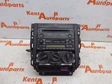 VW GOLF MK4 2002 DASH SURROUND / STEREO CD CHANGER HEATER CONTROLS CUP HOLDER