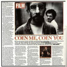 NEWSPAPER CLIPPING/ADVERT 17/9/94PGN30 THE COEN BROTHERS