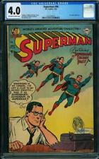 Superman #90 CGC 4.0 DC 1954 Lex Luthor! Action Comics! JLA! G11 318 cm