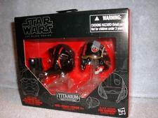 Order Tie Fighter Pilot Black Leader Poe Dameron Mini Helmets Star Wars Titanium