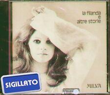 """MILVA """" LA FILANDA E ALTRE STORIE """" CD SIGILLATO BMG RICORDI 1999"""