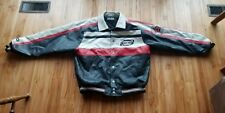 First Down Aviation Leather Jacket Size X-Large Air Commander Rare