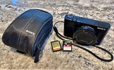 Sony Cyber-Shot DSC RX100 III 20.2 Megapixel Digital Camera + 2x 32GB SD Card
