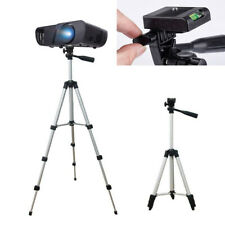 Portable Aluminium Extendable Tripod Stand Base Adjustable For Projector Camera