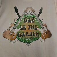 Vintage A Day In The Garden 1998 Woodstock XL Tee T-Shirt Rare Double Side Print