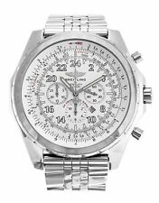 Breitling Stainless Steel Case Luxury Wristwatches