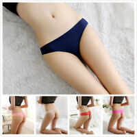 Women Seamless Lace Thongs G-String Sexy Exotic Panties Solid Briefs Underwear
