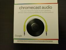 Google Chromecast Audio Media Streamer - Black NEW IN SEALED BOX