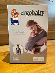 ergobaby Embrace Babytrage - Farbe grau (heather grey)