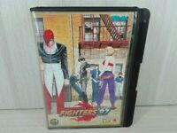 NEO GEO AES THE KING OF FIGHTERS 97 KOF Free Ship JP USED