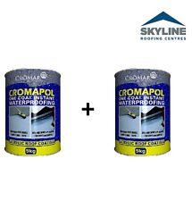 2 X Cromapol 5KG| Paint | Roof Repair | One Coat Instant Waterproofing