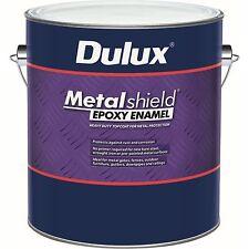 DULUX  4 litre indu metal-shield top coat steel FACTORY BASES colour paint
