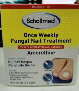 Scholl med Once Weekly Fungal Nail Treatment, 2.5ml - HIGHLY EFFECTIVE!