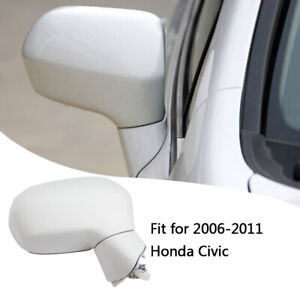 Right Passenger Side Rearview Mirror Power 3Wire Fit for Honda Civic 2006-2011