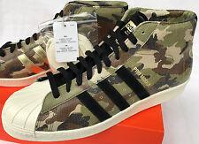 Adidas Pro Model 80's Quickstrike F37686 Camo Basketball Shoes Men's 11 Skate