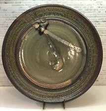 STEVEN HILL - Large Vintage Platter - Studio Pottery Farmhouse Wabi Sabi