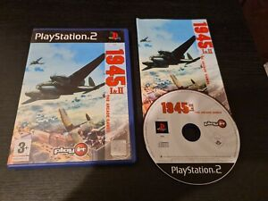 1945 1 and 2 The Arcade Game PS2 (PlayStation 2) Boxed with manual. GC. Free P+P