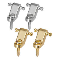 4 Pieces Roller String Trees Retainer Guide Set for Electric Guitar Parts