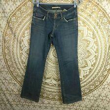 Sergio Valente Women's Low Rise Dark Wash Jeans Sz 28