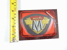 Genuine Original Maico Motorcycles - Paddy Hopkirk 1960/70s Woven Cloth Patch