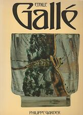 New ListingEmile Galle-Decorative Arts Book-Art Nouveau-Furniture-Pottery -Glass-Bibliograph
