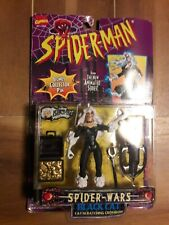 Marvel Legends SPIDER-MAN Spider-Wars Series Black Cat  1996  Toy Biz