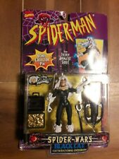 Marvel Legends SPIDER-MAN Spider-Wars Series Black Cat  1996  Toy Biz