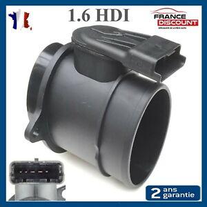 Debimetre d'air pour Peugeot 1007 206 207 3008 307 308 407 5008 PARTNER 1,6 HDI