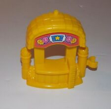 Fisher Price Little People Ticket Booth Fun Sounds Amusement Park