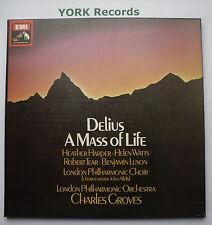 SLS 958 - DELIUS - A Mass For Life GROVES London Phil - Ex 2 LP Record Box Set