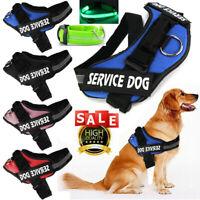 Non-Pull Dog Pet Vest Harness Service Adjustable Comfort Nylon Lead Collar Strap