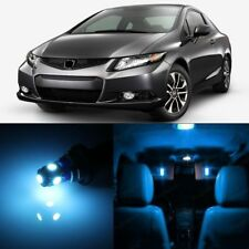 8 x Ice Blue LED Lights Interior Package For Honda CIVIC 2013 - 2018 + Pry TOOL