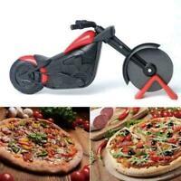 Edelstahl Pizzaschneider Motorrad-Modle Pizzamesser Neu Küchenhelfer C9A5 G9G8