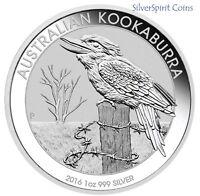 2016 KOOKABURRA Silver Coin in Capsule