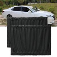 2x Car Van SUV VIP Style Window Curtain Anti-UV Sunshade Visor Privacy Protect