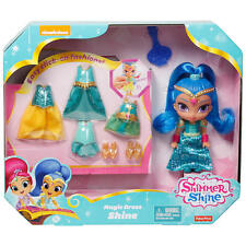 Fisher Price Shimmer & Shine Magic Dress Shine DGL80/DGL78  NEW