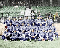 1913 Chicago Cubs Photo 8X10 - Bresnahan  Evers COLORIZED  Buy Any 2 Get 1 Free